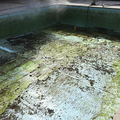 zwembad vuil 1