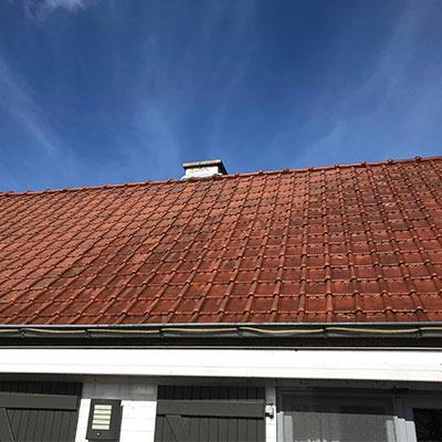 schoonmaak dak 6